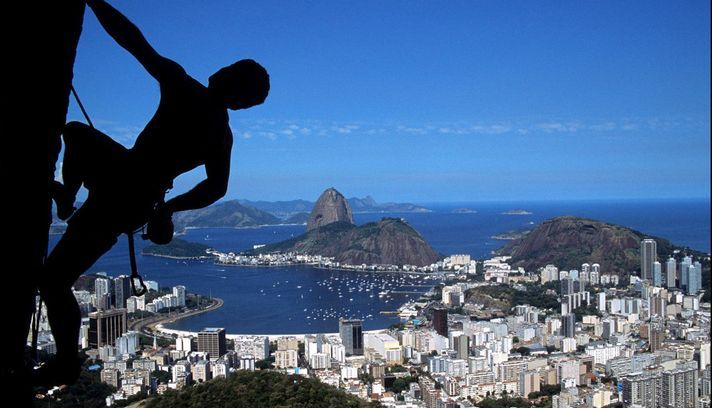 "view from ""mirante dona marta"", rio de janeiro"