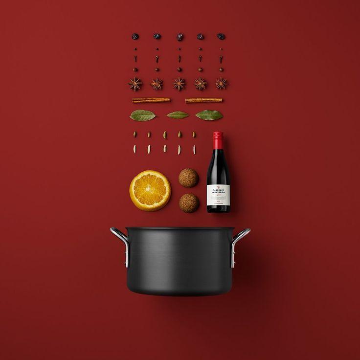 Rezepte minimal als Foto visualisiert von Mikkel Jul Hvilshøj