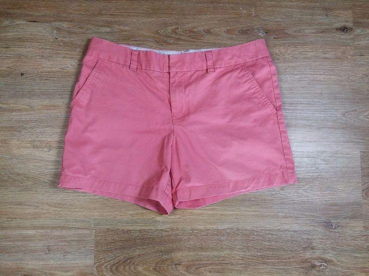 Damen Tommy Hilfiger Shorts Kurz Hose Rosa Baumwolle Gr.  L 40 (8 US)  Top!