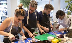 You'll like this … customers at Ikea's The Dining Club.