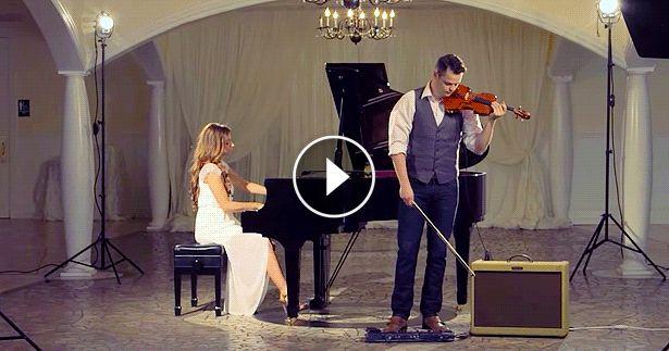 Hallelujah kicsit másként! Csodálatos zongora-hegedű játék!