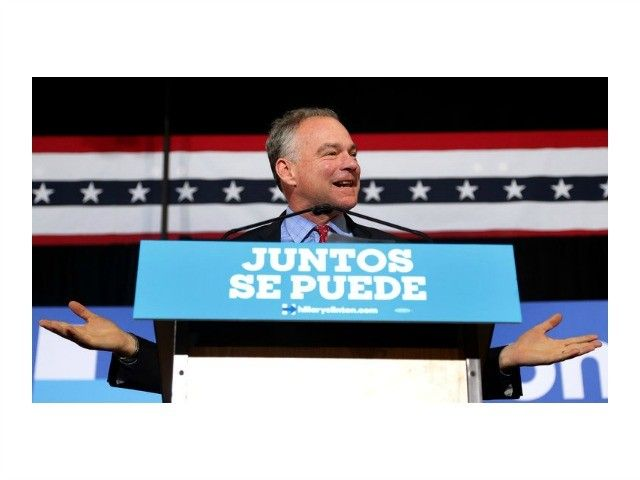 Tim Kaine Cheers End of White Majority in Spanish Address