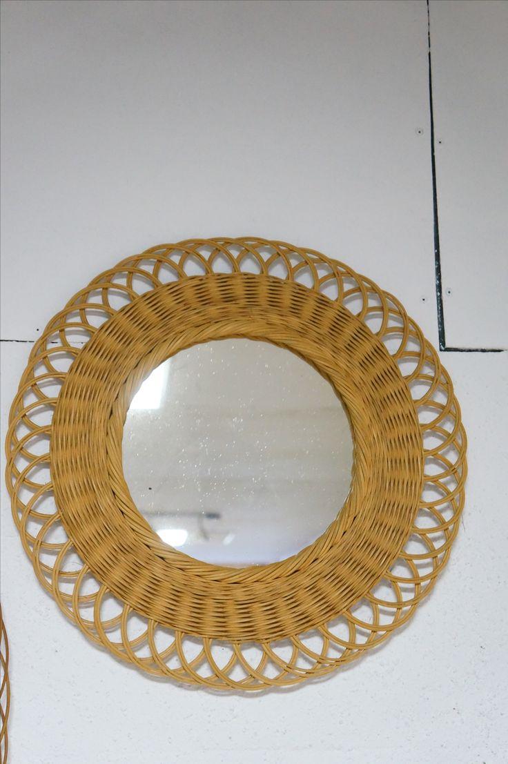 17 meilleures id es propos de miroir soleil sur for Miroir en osier