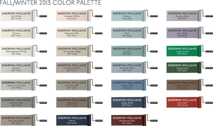 sherwin williams paint colors for pottery barn fall winter