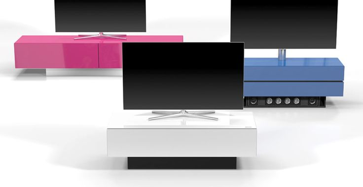 Spectral Brick TV-Möbel pink, weiß & blau bei Funkhaus Küchenmeister. Mehr Infos jederzeit auf unserer Website.