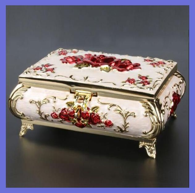 In The Toilet Don T Hang Around Looking For Your Precious Rings After Your Morning Shower Wh In 2020 Vintage Jewelry Box Vintage Style Jewellery Jewelry Box Diy