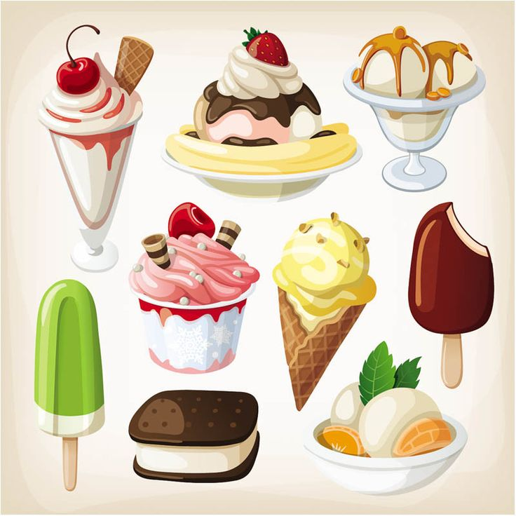 Ice cream vector | Vector Design Art