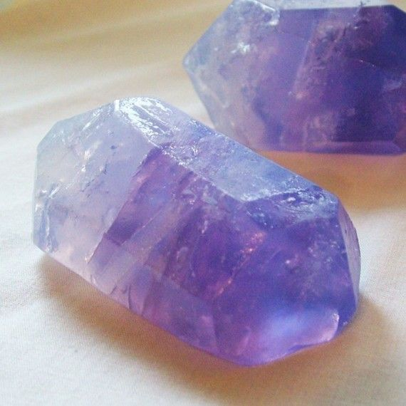 2 oz. Soap/Amethyst Crystal Soap