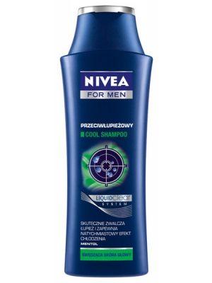 szampon przeciwłupieżowy cool  • działa przeciwłupieżowo • zapobiega nawrotom • zawiera mentol • natychmiastowo chłodzi skórę
