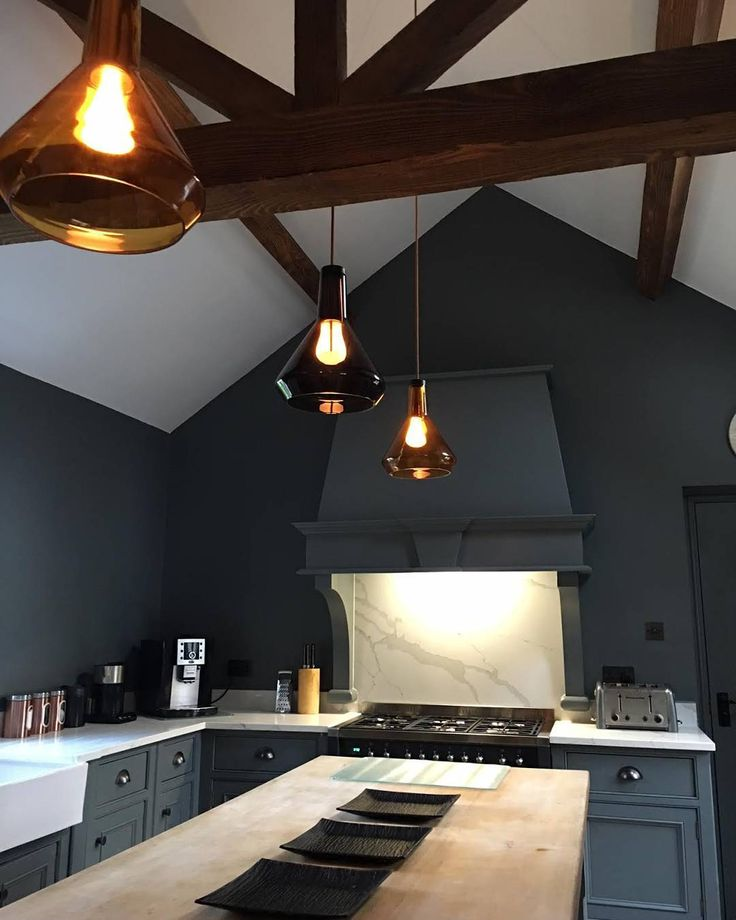 Kitchen envy thanks for this glorious shot of your drop top shades david inglis · lighting ideaskitchen