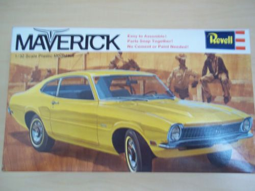 Revell Maverick box art | vintage model kits and hobbies | Pinterest | Revell model cars, Model cars kits and Plastic model cars