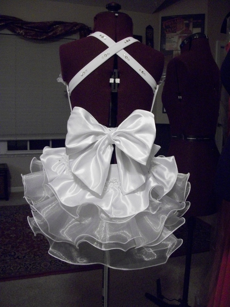 """Back of one of my """"going to the Chapel"""" costumes"""