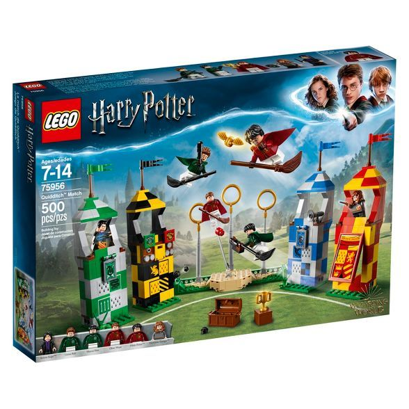Lego Harry Potter Quidditch Match 75956 Harry Potter Quidditch Harry Potter Lego Sets Lego Harry Potter