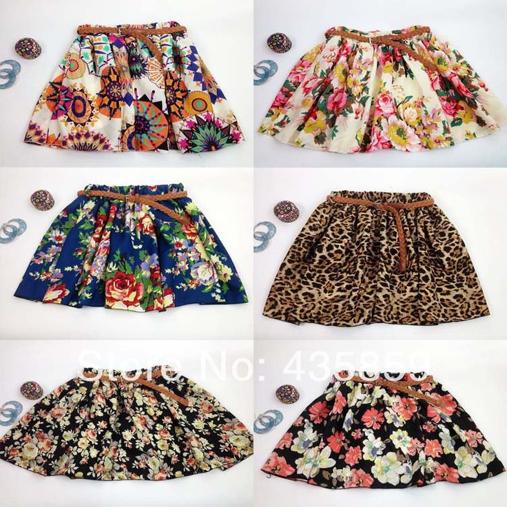 Free Shipping 2014 Vintage New Fashion Leopard Summer Chiffon Women Skirts Casual Floral Summer Dress Short Skirts WS001