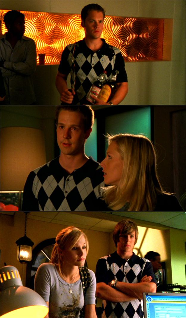 The. Argyle. Polo. 22 Things that Need to be in the Veronica Mars movie