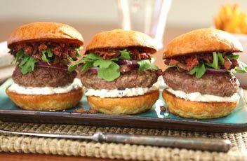 Mediterranean Lamb Sliders with Olive Everything Spread | Recipes & Tips | Mezzetta.com | Don't Forgetta Mezzetta