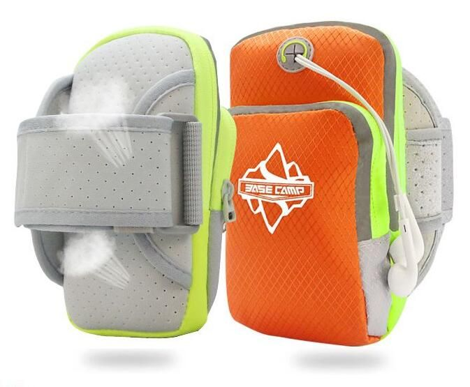 Sports Multifunctional Pockets Workout Running ArmBag all 3.5 - 5 Inch Cellphones - Orange This size work for 3.5 - 5 inch device. DOUBLE POCKETS Convenient place your cellphone, earphone, cable, charger, keys, ID cards, wallet and other accessories. Waterproof, durable to use and comfy to wear, perfect for sports and outdoor activities. HIGH QUALITY and Concealed Double Zippers, Fashion, Safe, Sturdy, also Suit for Using Earphones. This Bag is Suitable for unisex, both men and women, youth…