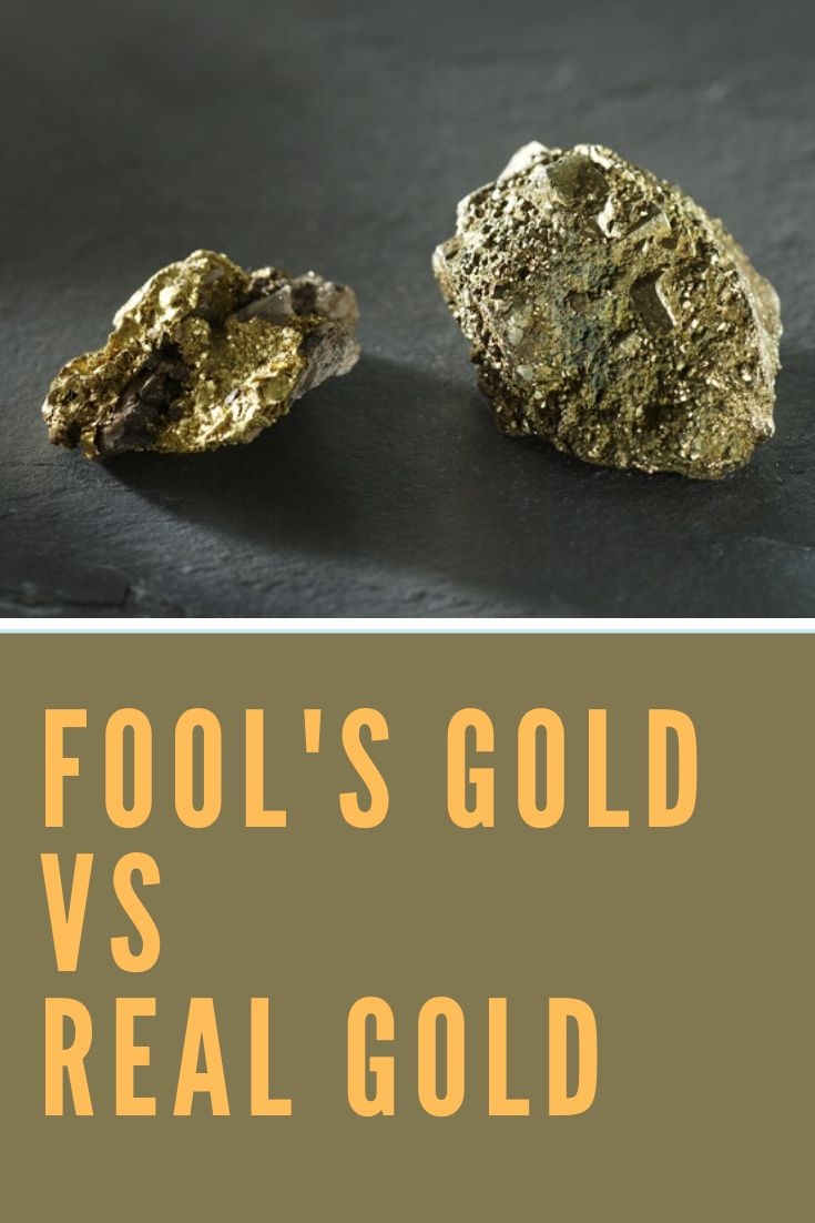 Fools gold vs real gold in 2020 fool gold real gold
