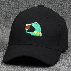 SHARE & Get it FREE | Stylish Cartoon Lizard Embroidery Hip Hop Black Baseball HatFor Fashion Lovers only:80,000+ Items • FREE SHIPPING Join Twinkledeals: Get YOUR $50 NOW!
