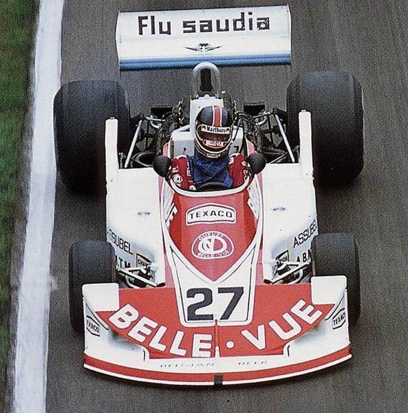 Patrick Neve, 1977 Williams