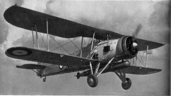 The Fairey Swordfish biplane appeared obsolete but scored many notable torpedo hits during the war. The most powerful battleship yet built was among the victims.