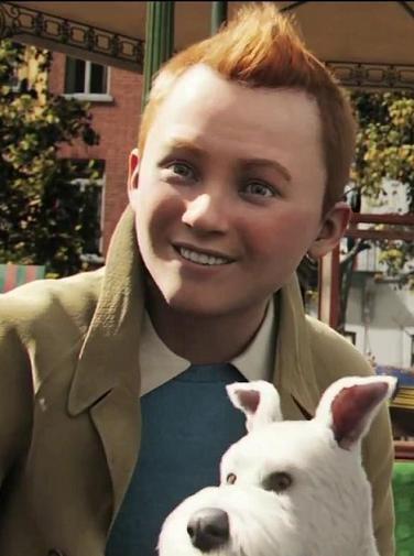 'Tintin and Snowy' said previous pinner • Tintin, Herge j'aime... Tenho um segredo para contar: estou viciada em Tintin !!! , mas tá dificil assistir... Adoro !