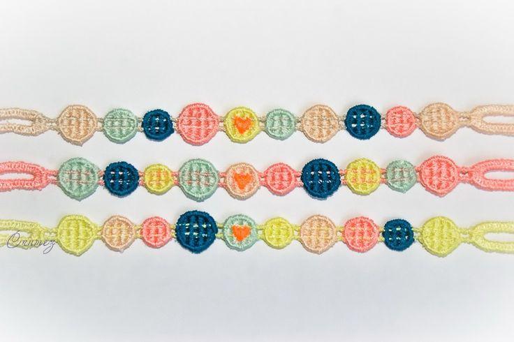 Наши новинки! Вышитые браслеты фенечки Влюбленные пикселы. - Ярмарка Мастеров - ручная работа, handmade