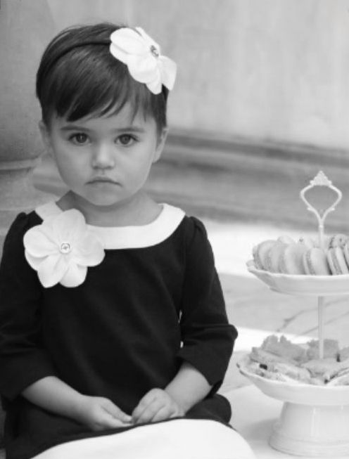♔ Litlle French girl