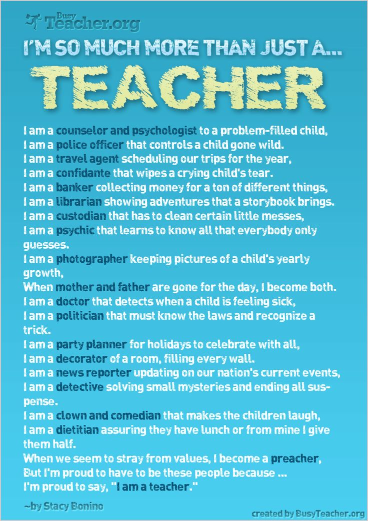 For those who say teachers have it easy or don't matter...