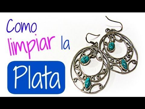 ▶ Como limpiar la plata. How to clean silver. - YouTube