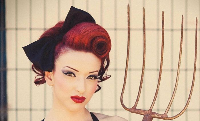 66 Rockabilly Frisuren Die Trendige Kombination Aus Retro Und Rock