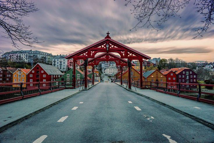 Gamlebybro, Trondheim  by Aziz Nasuti on 500px