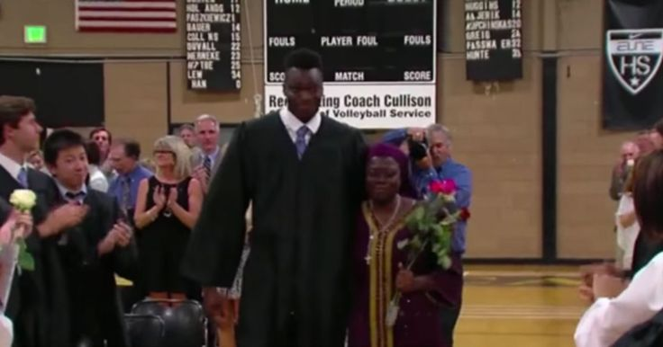A student at the John Carroll School in Bel Air, Maryland received the surprise of a lifetime thanks to his fellow classmates. Mike Tertsea, standing at 6 feet and 10 inches, moved from Nigeria to Maryland when he was just 14-years-old in order to play basketball for the John Carroll School. Unable to return home …
