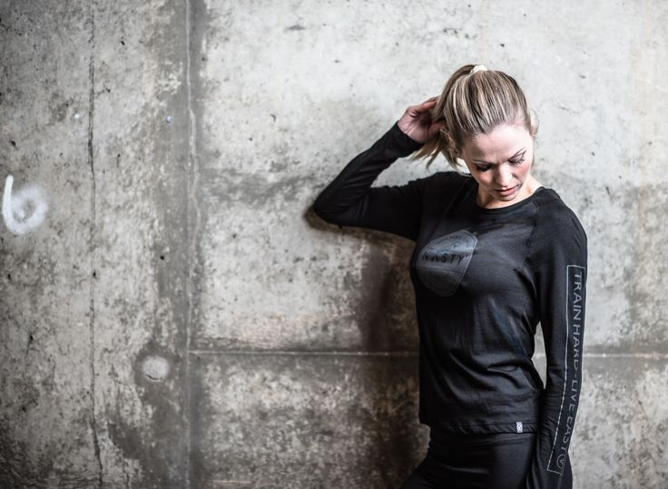 Long Sleeve Circle Top by Nasty Lifestyle.  Get yours today!  CrossFit Apparel, Gym Apparel, Fitness Apparel, Womens Lifestyle product,