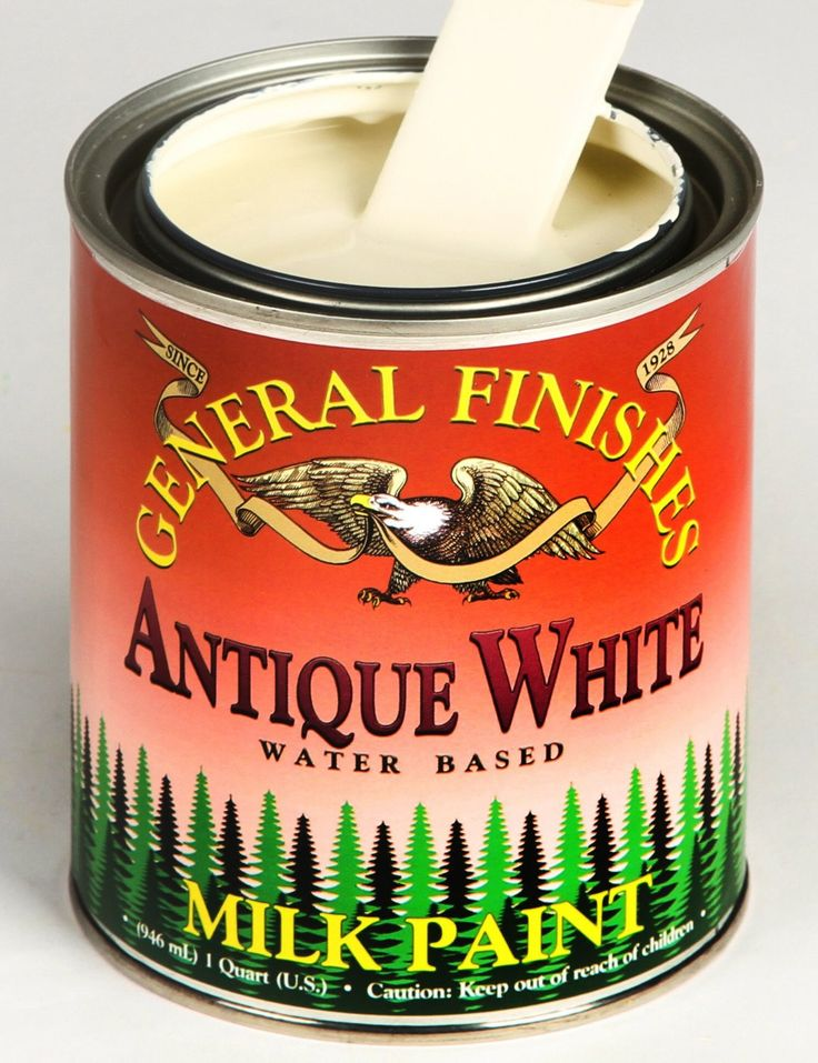 General Finishes Antique White Milk Paint