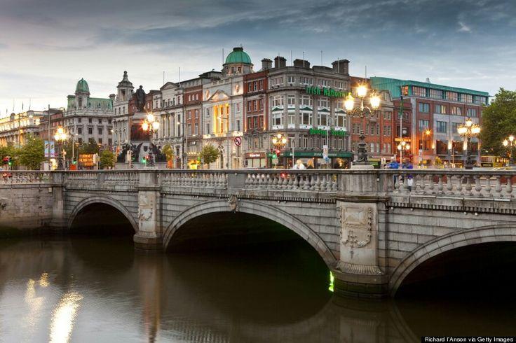 Dublin, Irlanda Capital da República de Irlanda e cidade máis poboada da illa