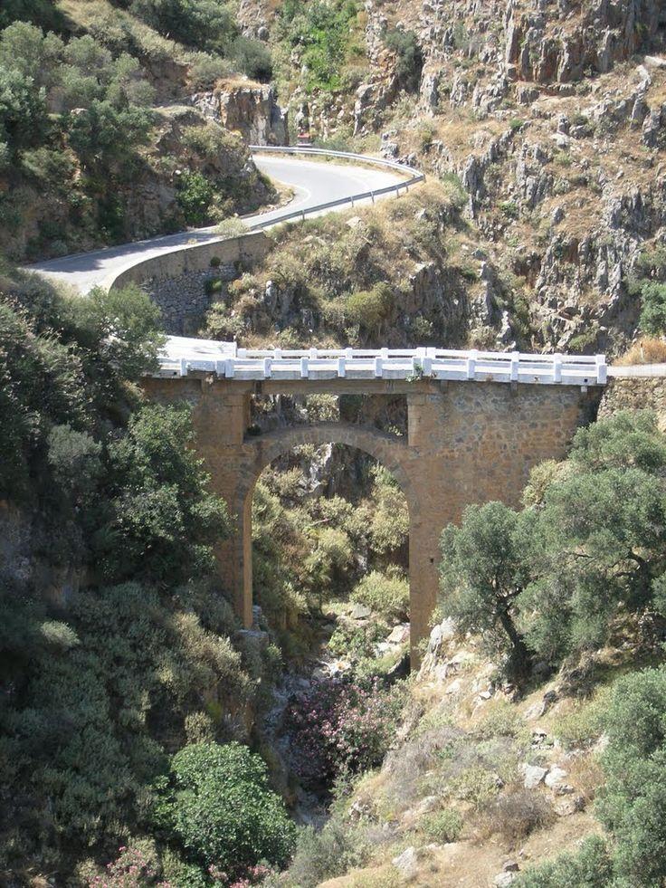 old bridges Greece | Kato Rodakino, Crete, Greece, Old Bridge