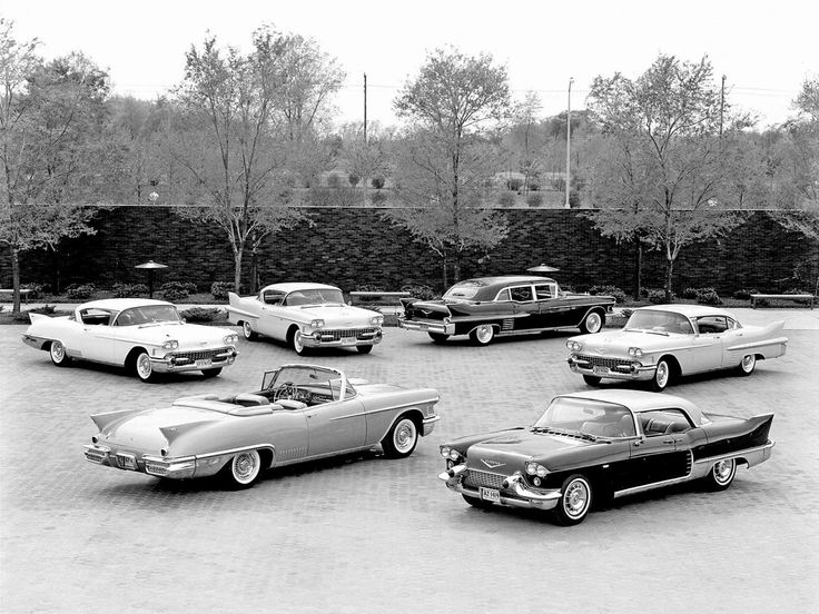 1958 Cadillac Division Press Release Photo