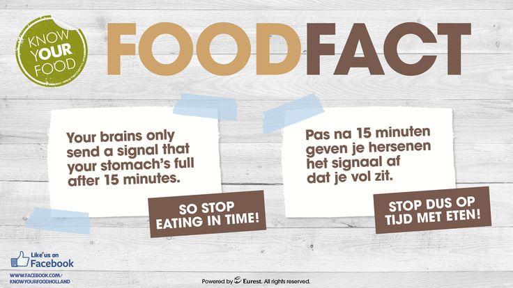 Langzaam eten! :)