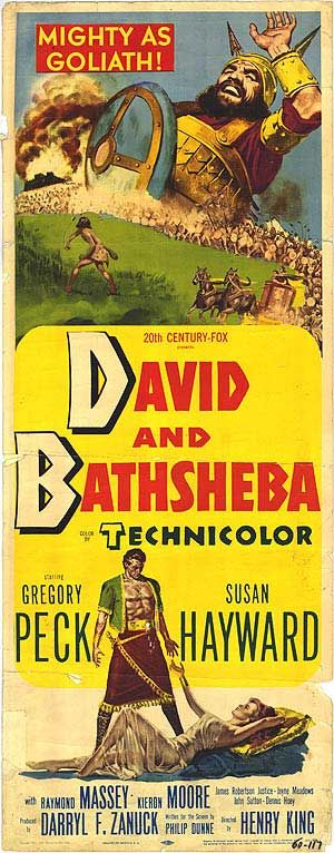 """David And Bathsheba"" (1951) Gregory Peck, Susan Heyward"