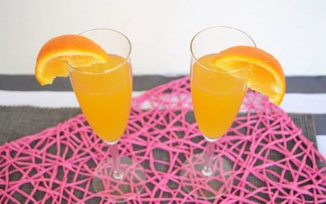 Cocktail Mimosa Rapide avec Thermomix