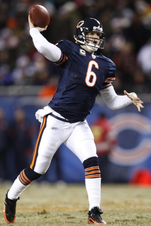 Jay Cutler, Quarterback of the Chicago Bears
