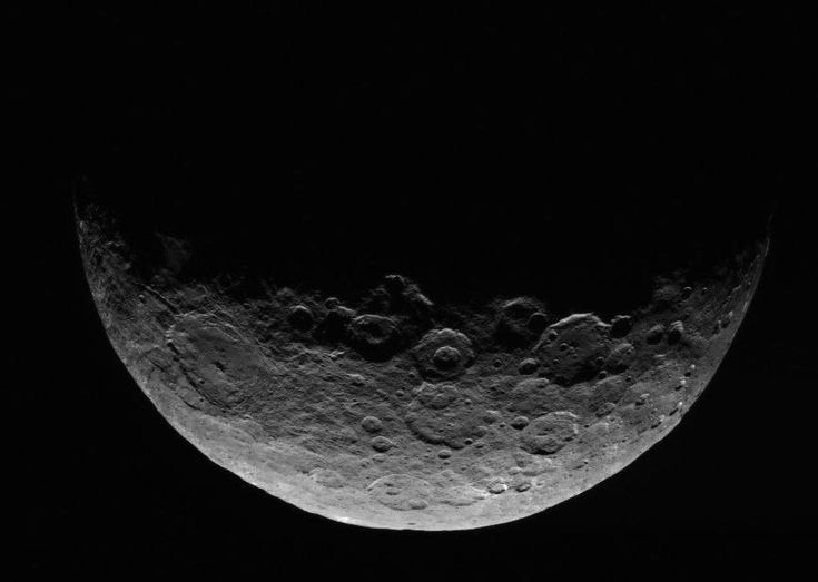 Image of Ceres by the Dawn spacecraft on April 24-26, 2015