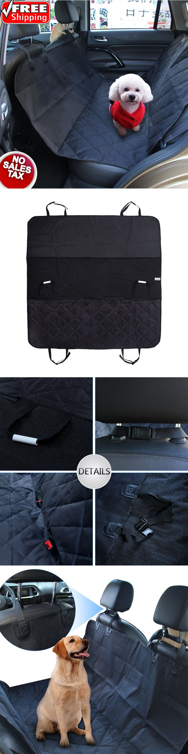 Car Seat Covers 117426: Pet Car Seat Cover Waterproof Hammock Dog Cat Back Rear Protector Travel Animal BUY IT NOW ONLY: $77.96