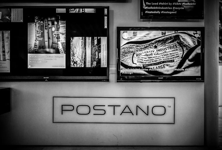 Testing the #klktv social media feed at the Postano headquarters in downtown PDX - Portland, Oregon.  ©Kollektiv Industries: Denim + Design Labs Black and White Photography. Rock on. #postano #kollektiv #socialmedia