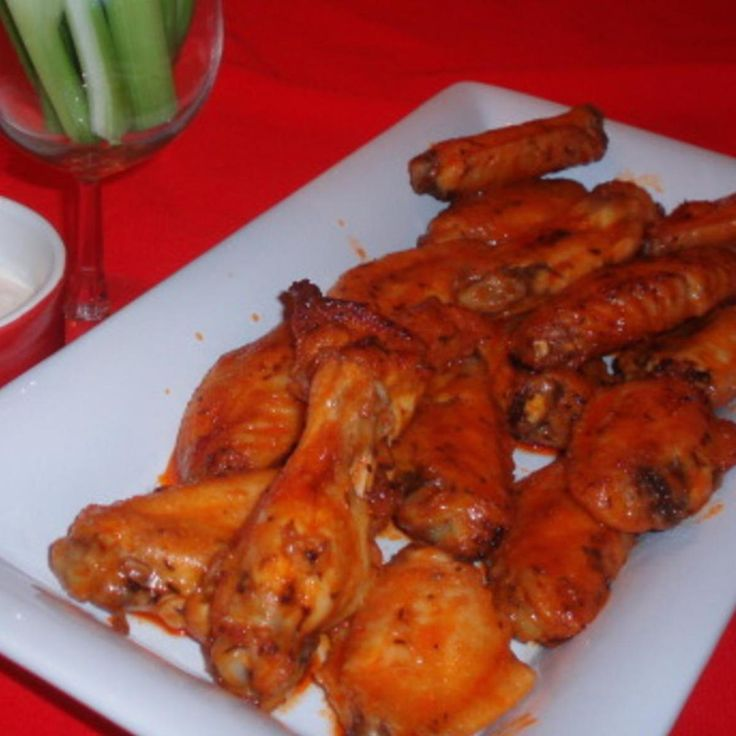 My husband and kids love these wings. They are really good! I always double the recipe.