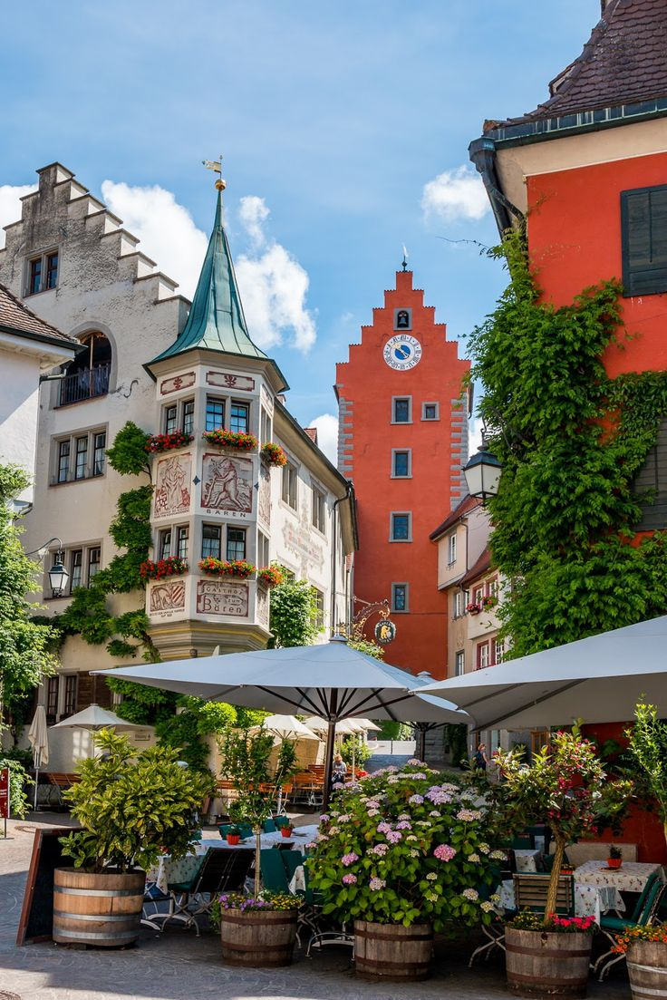 A Picture-Perfect Town in Germany: Meersburg, Lake Constance