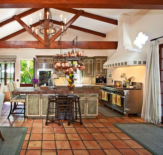 12 best saltillo tile ideas images on pinterest for Hacienda design ideas