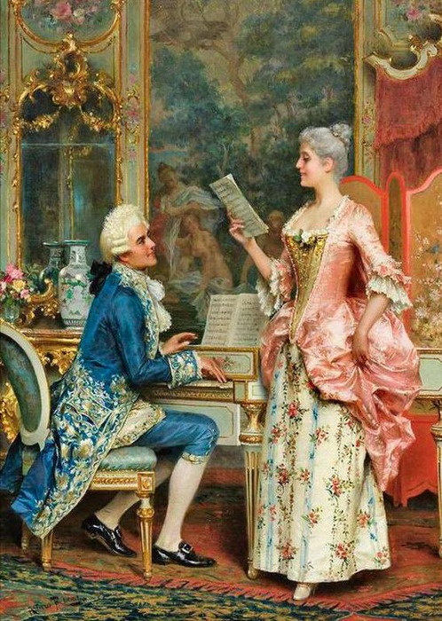 Arturo Ricci-The Singing Lesson