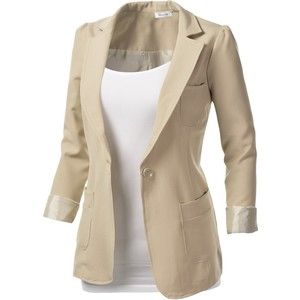 Image gallery for : womens white blazer outfit